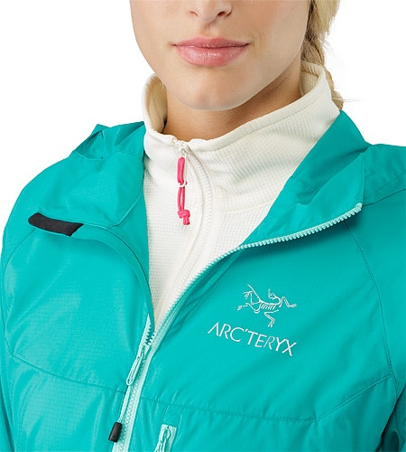 Squamish Hoody Women's Castaway Open Collar