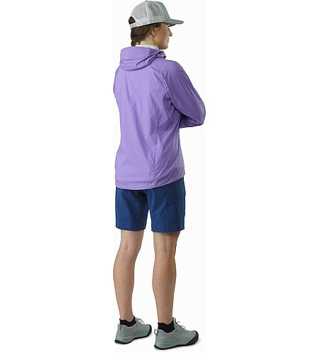 Squamish Hoody Women's Hyacinth Back View