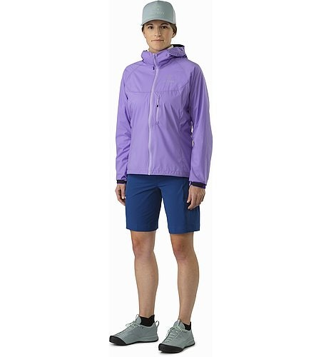 Squamish Hoody Women's Hyacinth Front View