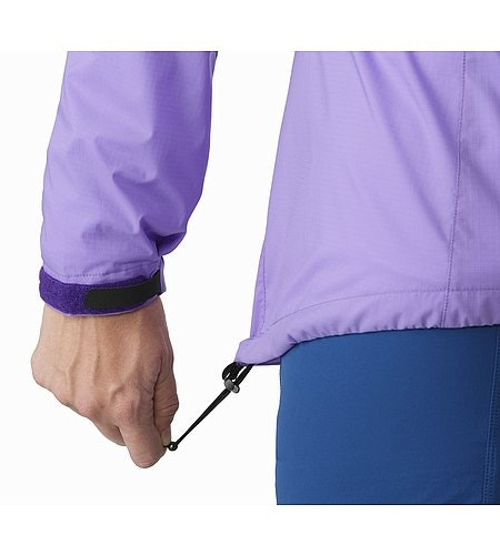 Squamish Hoody Women's Hyacinth Hem Adjuster