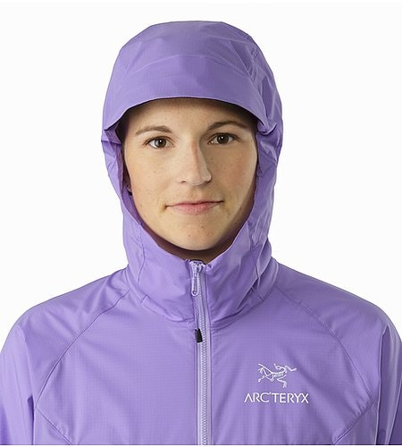 Squamish Hoody Women's Hyacinth Hood Front View