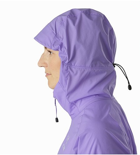 Squamish Hoody Women's Hyacinth Hood Side View