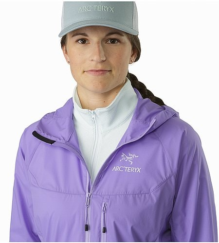 Squamish Hoody Women's Hyacinth Open Collar