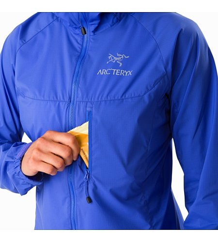 Squamish Hoody Women's Iolite Chest Pocket