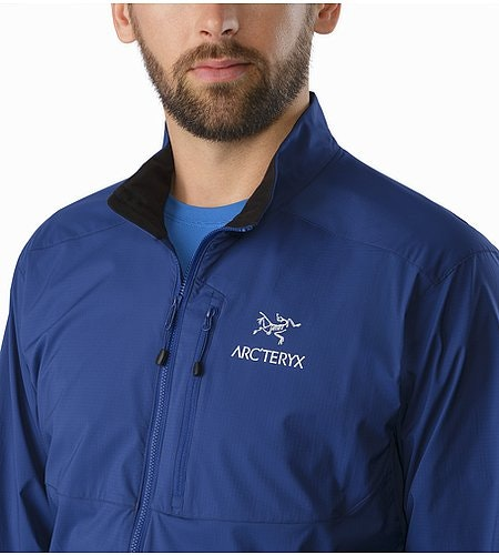 Squamish Jacket Corvo Blue Open Collar