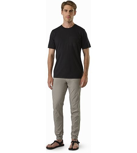 Starke Pant Silversword Front View
