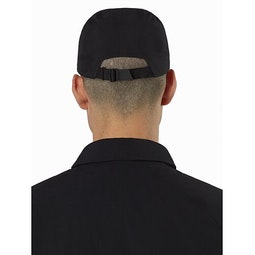 Stealth Cap Black Back View