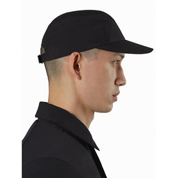 Stealth Cap Black Profile View