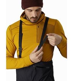 Stinger Bib Black Adjustable Suspenders