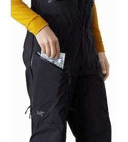 Stinger Bib Black Thigh Pocket