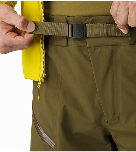 Stinger Pant Dark Moss Waist Adjusters