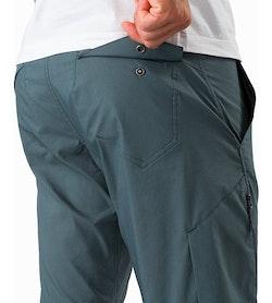 Stowe Pant Neptune External Pocket Back