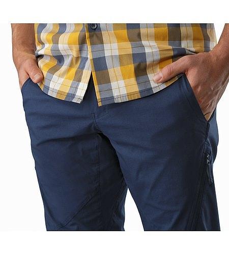 Stowe Pant Nighthawk Hand Pockets
