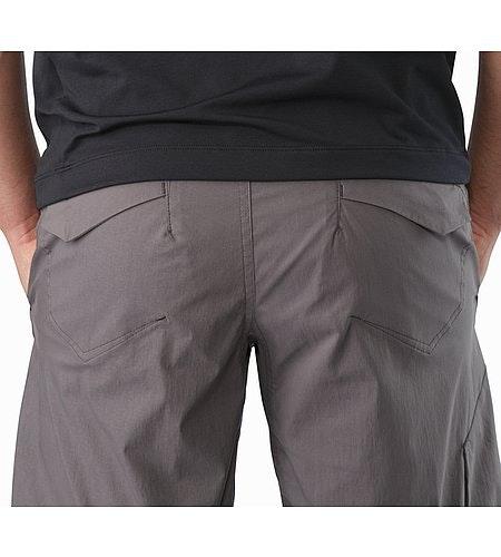 Stowe Short Dark Maverick External Pocket Back
