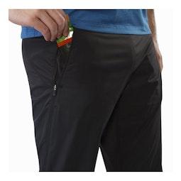 Stradium Pant Black Hand Pocket