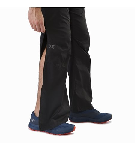 Stradium Pant Black Lower Leg Zipper Open