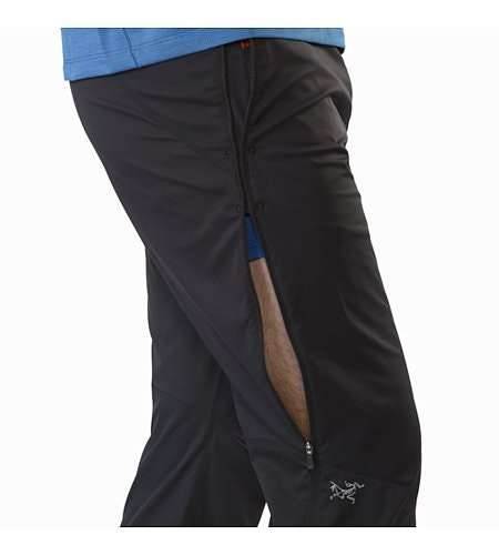 Stradium Pant Black Side Vent