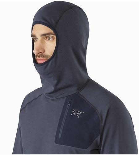 Veste à capuche Stryka Nighthawk Capuche Vue de profil