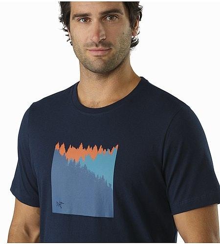 サブアルパイン Tシャツ キングフィッシャー グラフィック拡大