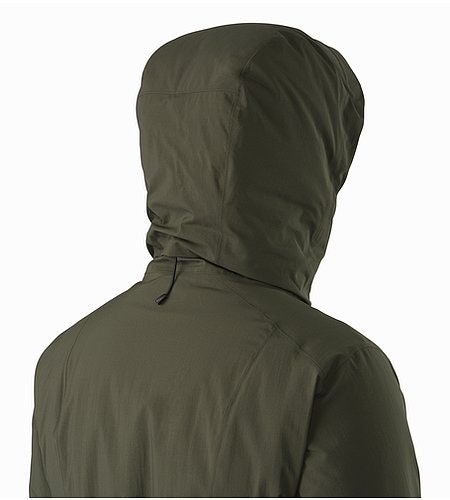 Sylva Parka Women's Caper Hood Back View