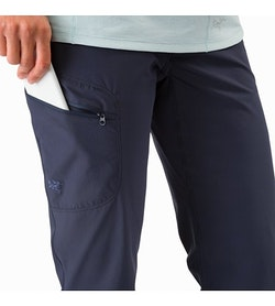 Sylvite Pant Women's Black Sapphire Thigh Pocket