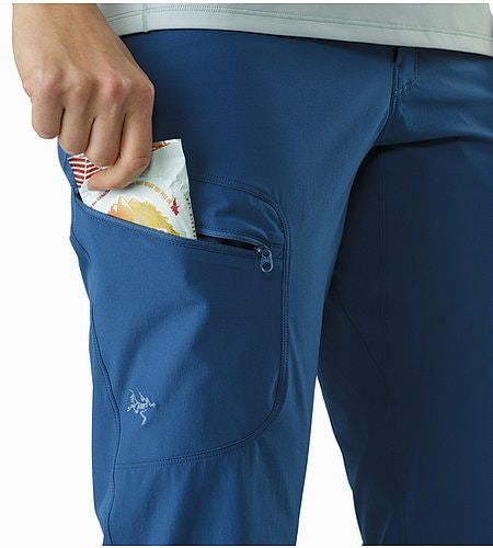 Sylvite Pant Women's Poseidon Thigh Pocket
