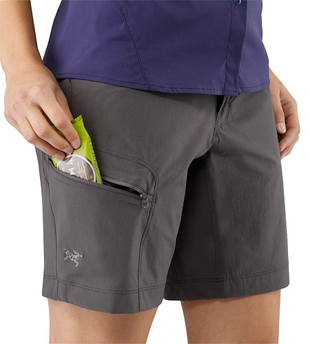 Sylvite Short Women's Iron Anvil Thigh Pocket