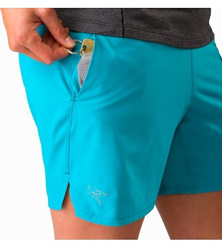 Taema Short Women's Dark Firoza Hand Security Pocket