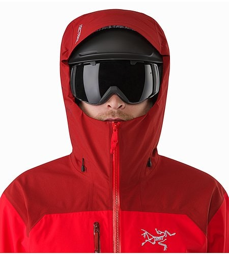 Tantalus Jacket Matador Helmet Compatible Hood Front View