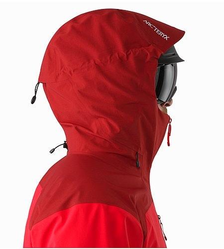 Tantalus Jacket Matador Helmet Compatible Hood Side View