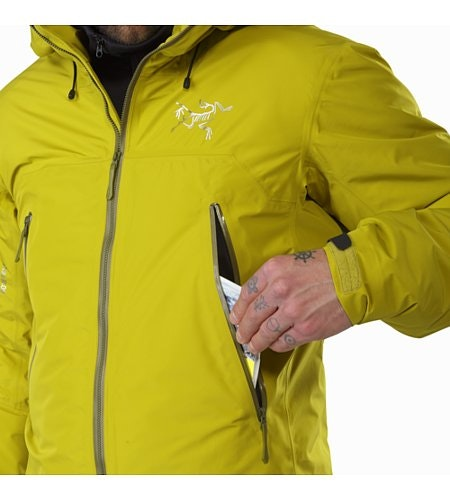 Tauri Jacket Everglade Hand Pocket