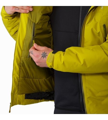 Tauri Jacket Everglade Internal Security Pocket