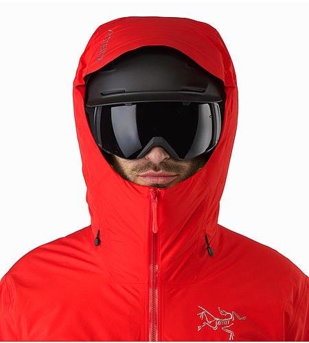 Tauri Jacket Matador Helmet Compatible Hood Front View