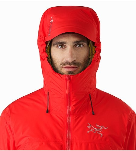 Tauri Jacket Matador Hood Front View