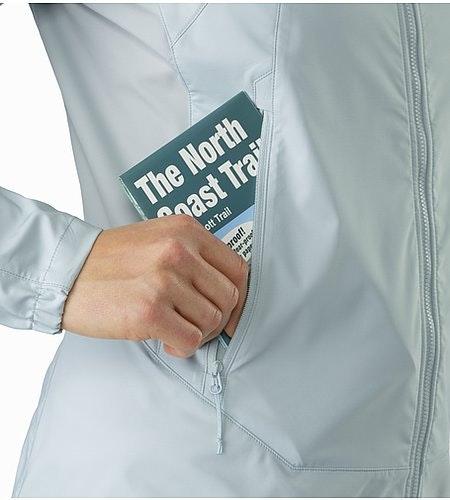 Tenquille Hoody Women's Petrikor Hand Pocket