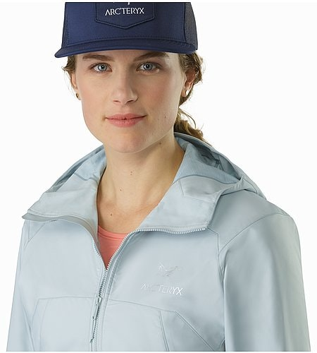 Tenquille Hoody Women's Petrikor Open Collar