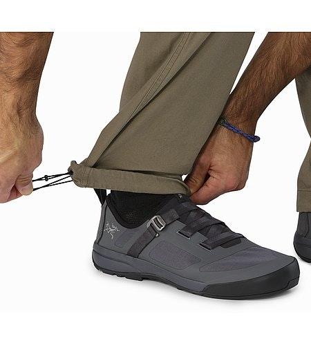 Texada Pant Sandstone Lower Leg Drawcords