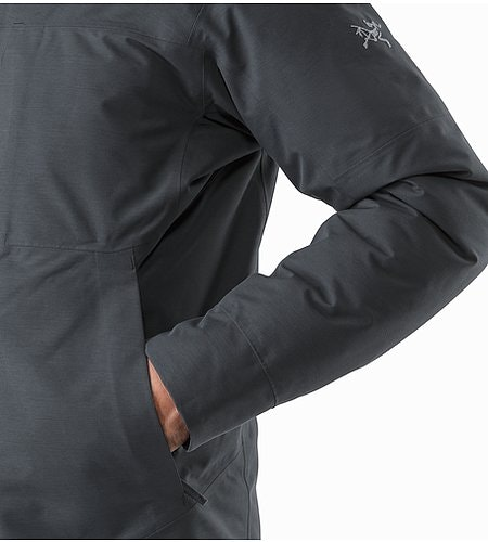 Therme Parka Nighthawk Hand Pocket