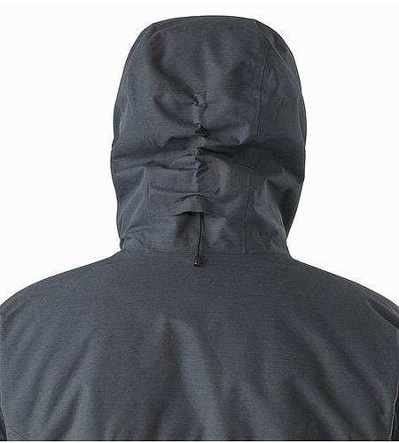 サーミー パーカ ナイトホーク フード 背面