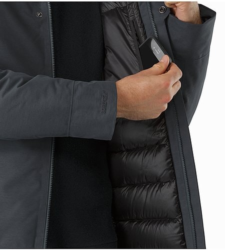 Therme Parka Nighthawk Internal Pocket