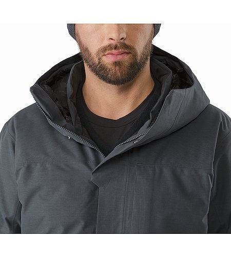 Parka Therme Nighthawk Col ouvert