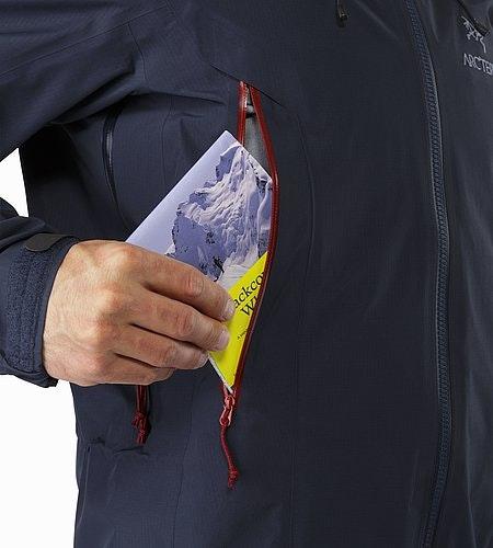 Theta AR Jacket Admiral Hand Pocket