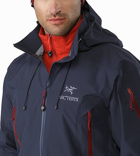 Theta AR Jacket Admiral Open Collar