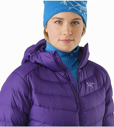 Thorium AR Hoody Women's Azalea Open Collar 2