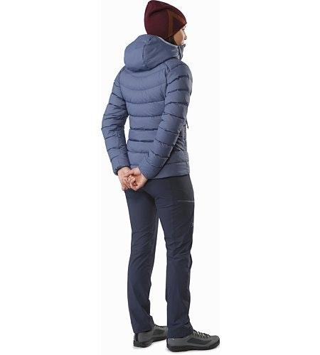 Manteau à capuchon Thorium AR Femme Nightshadow Vue de dos