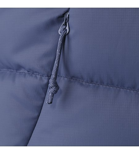 Manteau à capuchon Thorium AR Femme Nightshadow Étoffe
