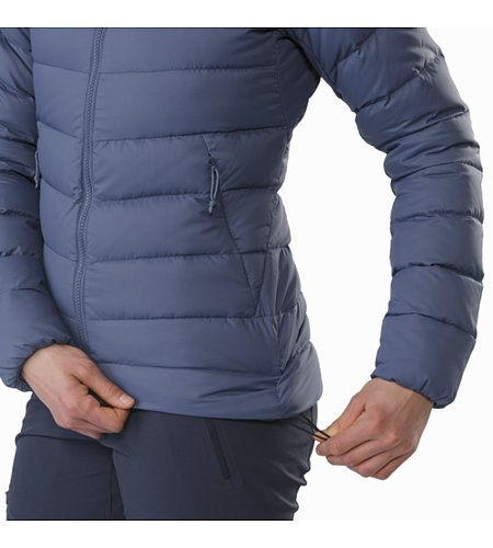 Manteau à capuchon Thorium AR Femme Nightshadow Cordon de serrage sur l'ourlet