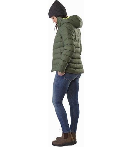 Manteau à capuchon Thorium AR Femme Shorepine