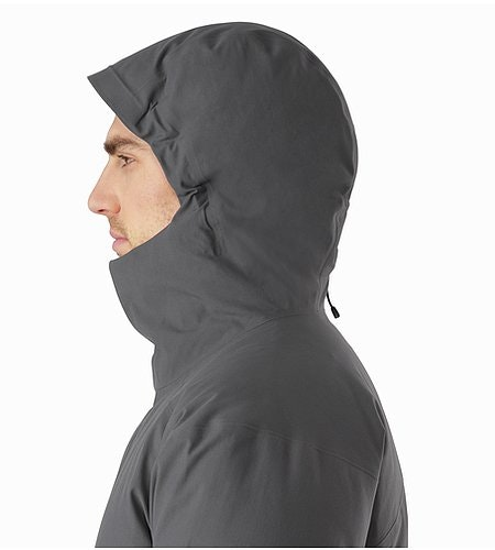 Thorsen Parka Pilot Hood Side View