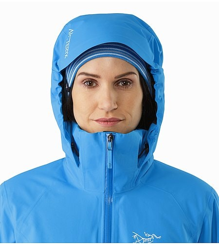 Tiya Jacket Women's Baja Hood Front View